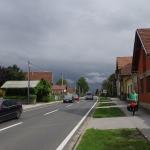 Straße nach Varazdin