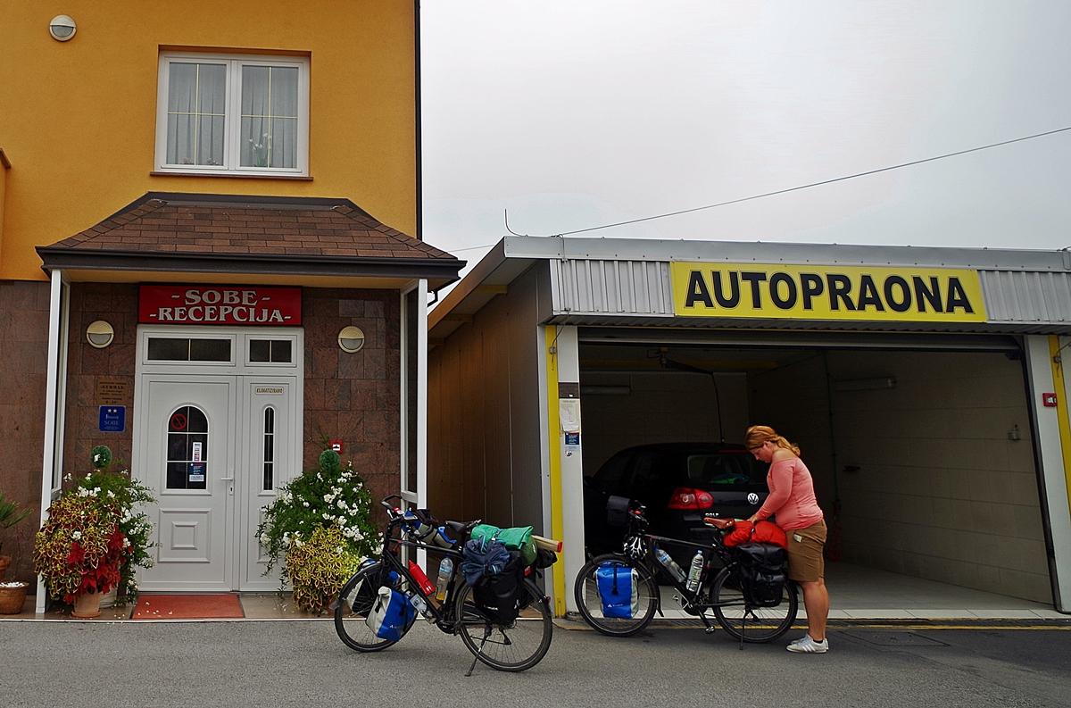 Pension kurz vor Zagreb