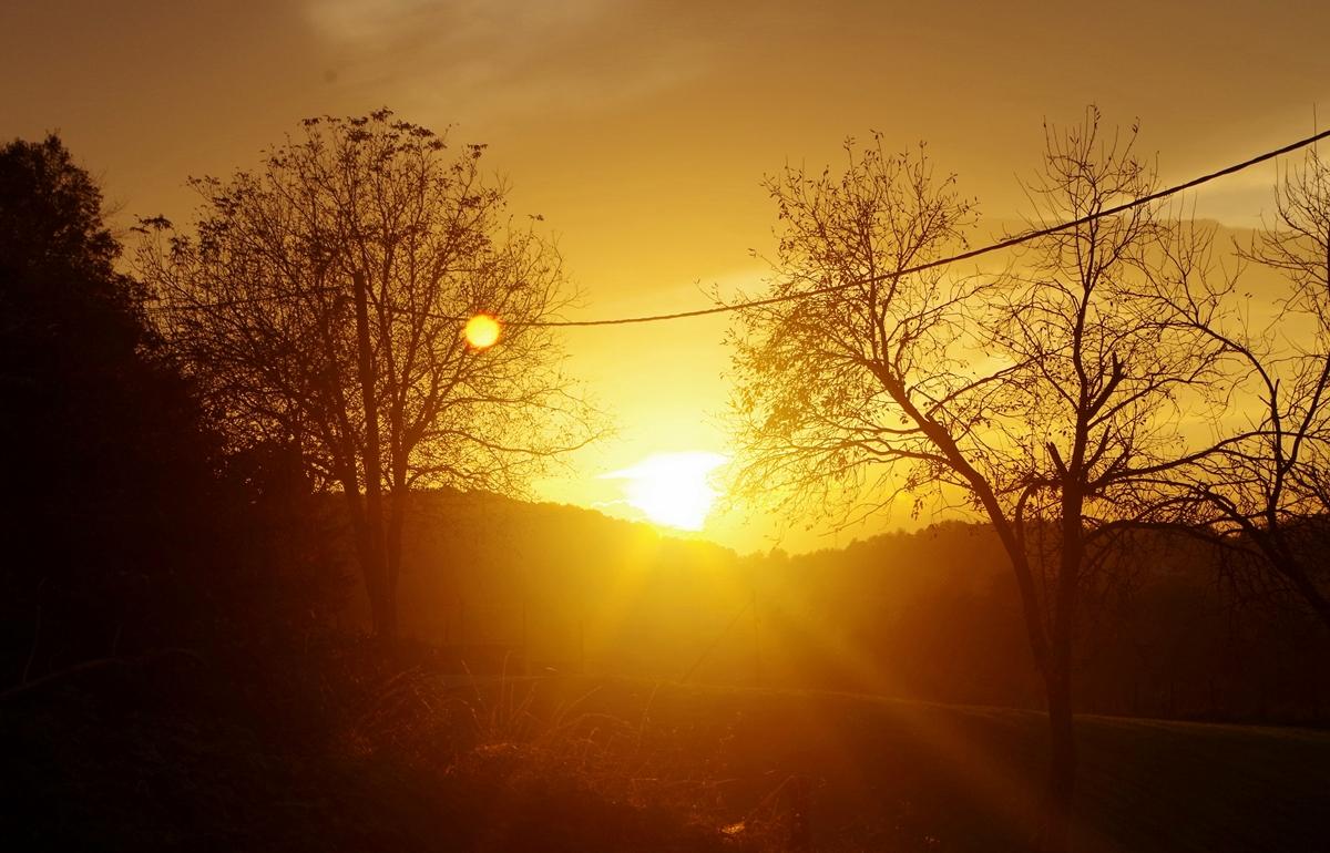 Sonnenuntergang bei Karlovac